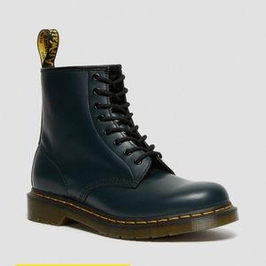 Dr. Martens 1460 Lace-Up Leather Boots Navy